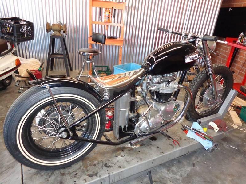 Triumph pan bottom
