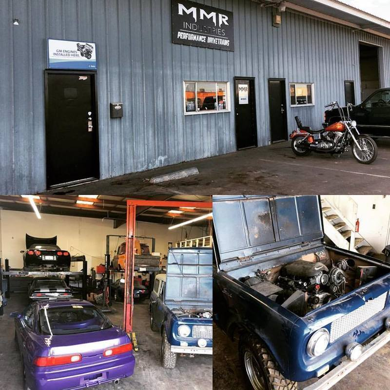 Mmr industries shop 2